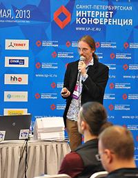 На VIII Санкт-Петербургской интернет-конференции (СПИК) директор интернет-проектов PROMT Борис Тихомиров рассказал об эволюции мобильных переводчиков Tranlsate.Ru